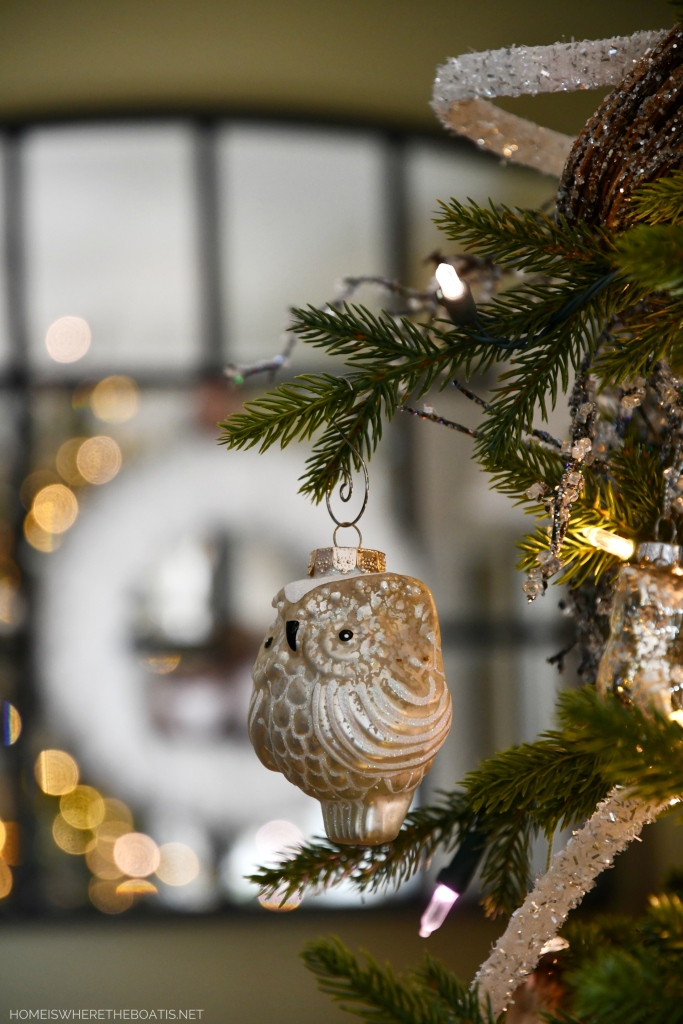 Winter Nesting Tree with Owls | ©homeiswheretheboatis.net #winter #tree #owls