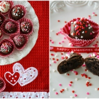 Brownie Truffles for Valentine's Day