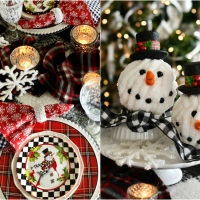 Frosty Fun DIY and Top Hat Snowman Winter Table