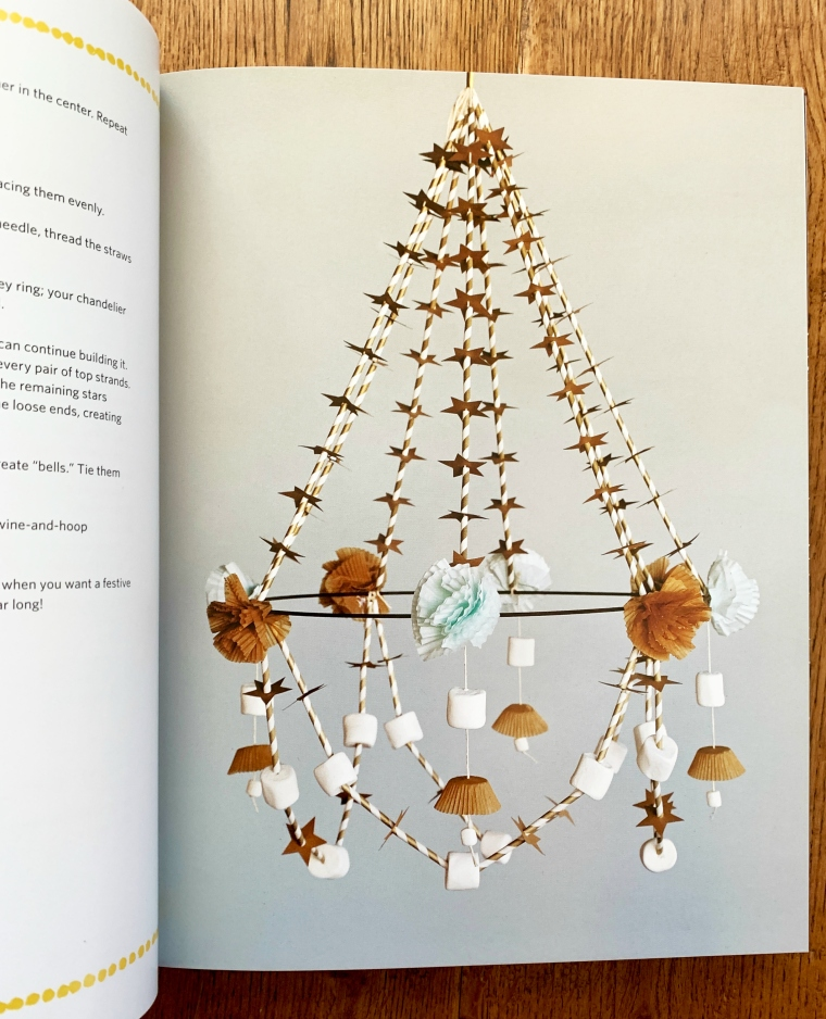 Marshmallow Chandelier Back in the Day Bakery Made with Love Cheryl and Griffith Day