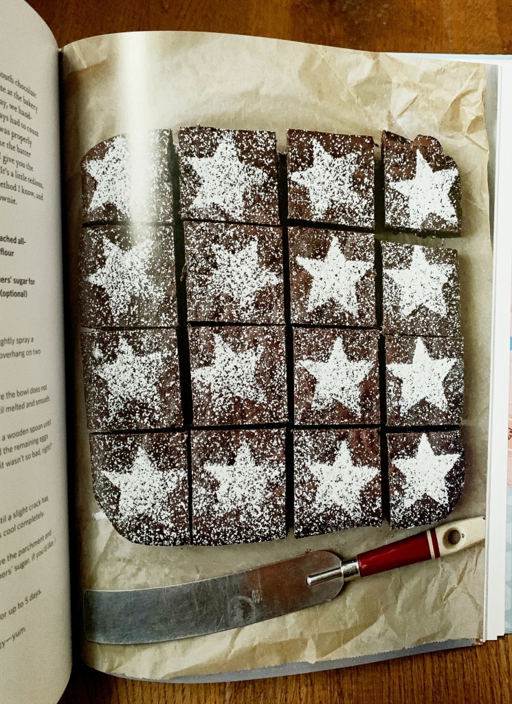 Star Brownies, Back in the Day Bakery Made with Love Cheryl and Griffith Day